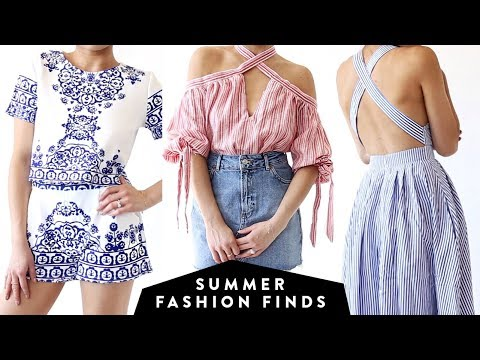 SUMMER FASHION FINDS Under $50 | Affordable Try On Clothing