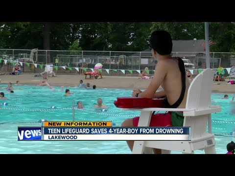 Teen lifeguard saves 4-year-old, first day on the job