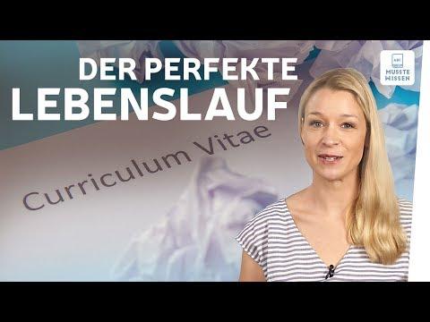 Lebenslauf schreiben I musstewissen Deutsch