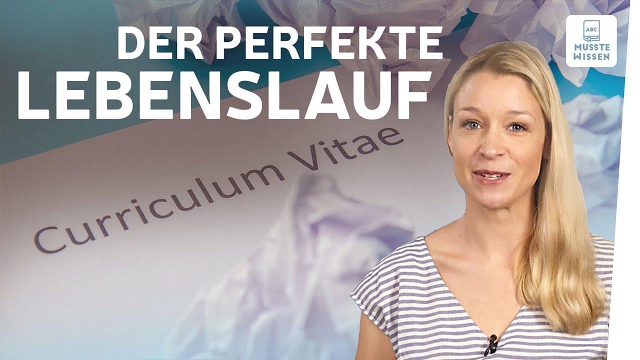Lebenslauf schreiben I musstewissen Deutsch - YouTube