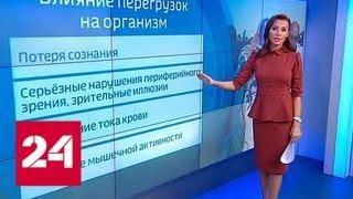 Смотреть видео Баллистический спуск: что происходит с космонавтами во время перегрузок - Россия 24 онлайн