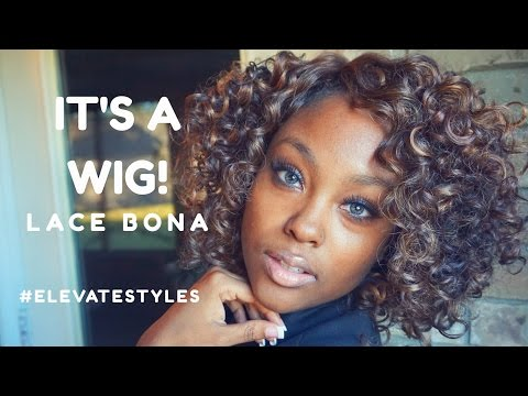 IT'S A WIG! LACE BONA | @MEEKFRO | ELEVATESTYLES.COM REVIEW