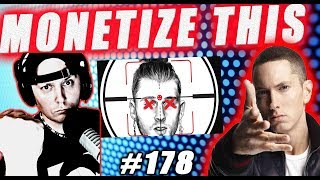 MONETIZE THIS ! #178 -  EMINEM  Response KillShot ! Reaction -