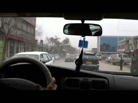 Afghan roadside bomb setting