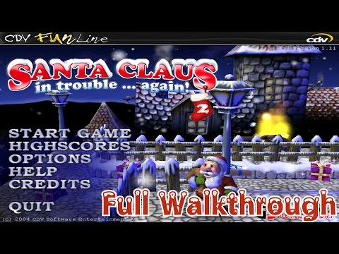 Santa Claus In Trouble... Again! - Full Walkthrough