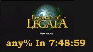 Legend of Legaia - any% speedrun (7:48:59)