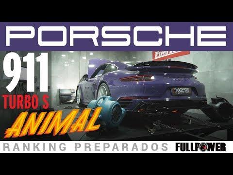 Porsche 911 Turbo S - Ranking Preparados FULLPOWER exótico e com vontade!