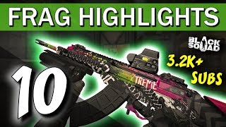 POP NADES FOR DAYS - Frag Highlights #10 (Black Squad)