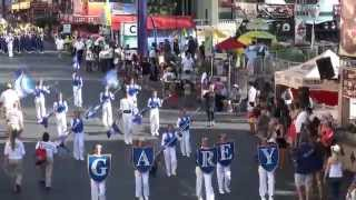 Garey HS - Anchors Aweigh - 2014 L.A. County Fair Marching Band Competition