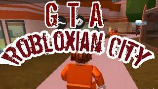 GTA Robloxian City: Une histoire Roblox
