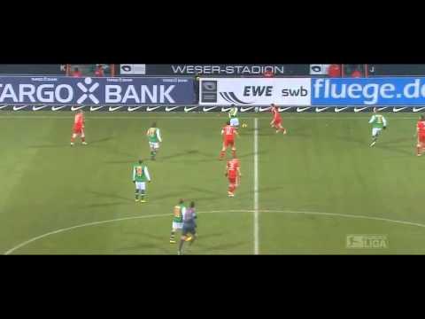 Ozil against Bayern Munich - Werder Bremen