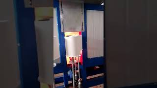 Oil filter house powder coating production line