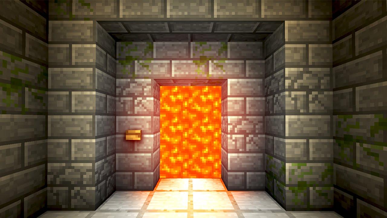 & Automatic Lava Door! - Minecraft Tutorial - YouTube Pezcame.Com