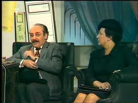 Dana Medřická, Miloš Kopecký a Eduard Dubský - Závěť (scénka, 1975)