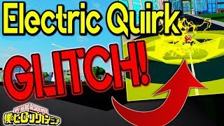 HOW TO GLITCH ALL BOSSES USING ELECTRIC QUIRK | BOKU NO ROBLOX REMASTERED!? | ROBLOX