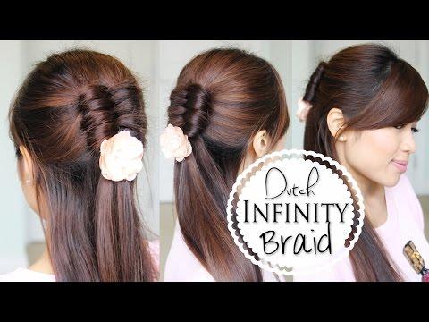 dutch-infinity-braid-tutorial-|-half-updo-prom-hairstyles