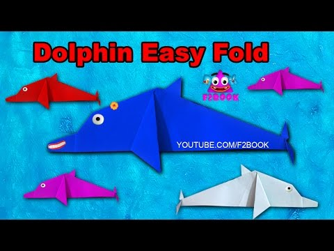 Vote No on : How to make an easy Origami Dolphin step by step