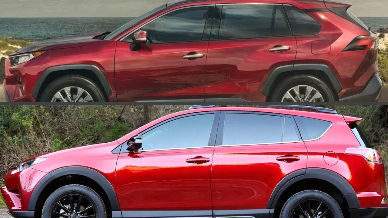 New 2019 Toyota Rav4 Vs Old 2018 Toyota Rav4 Youtube