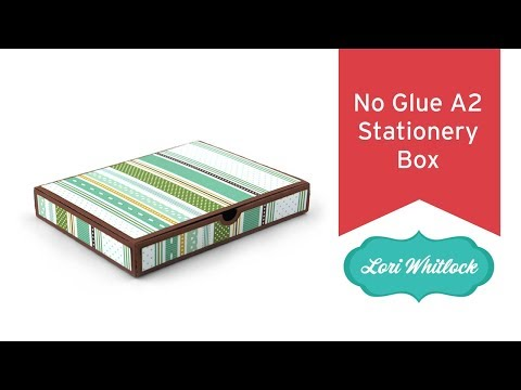 No Glue A2 Stationery Box