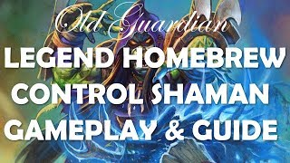 Legend with Control Shaman (Hearthstone Rise of Shadows deck guide)