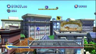 Sonic Generations - City Escape Acte 2 - Défi 5 : Course Alter Ego !