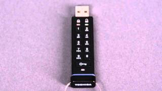 Encrypted USB Flash Drive Reset Pin   Technology Videos