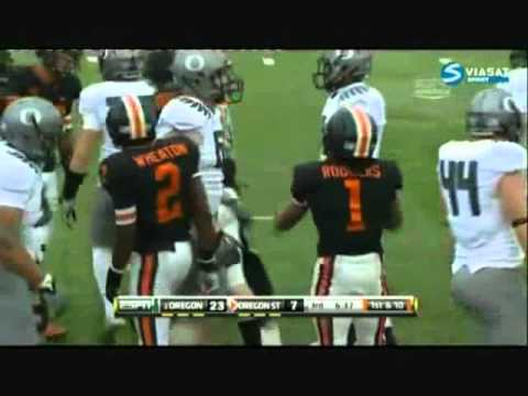 NCAA Football Hardest Hits 2010-2011