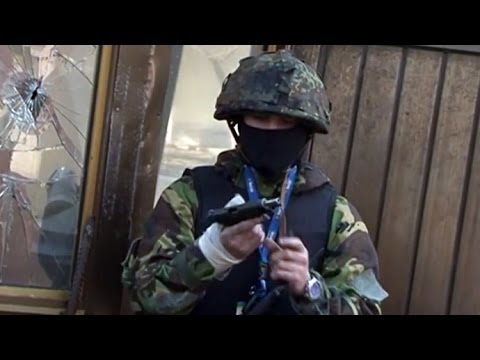 From bricks to bullets: Police footage shows Kiev rioters going ballistic