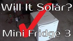 Will It Solar? - Mini Dorm Fridge 3