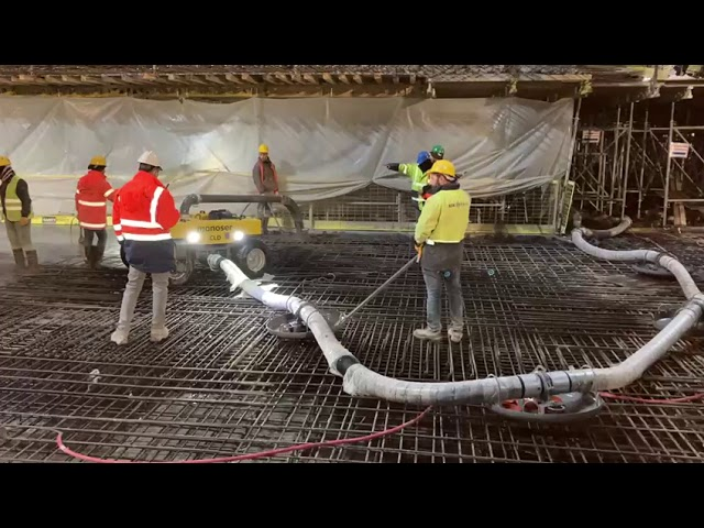 CLD Concrete Line Distributor - monoser® Concrete Placing Systems