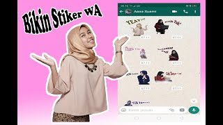 Download Video Cara Membuat Stiker Whatsapp MP3 3GP MP4