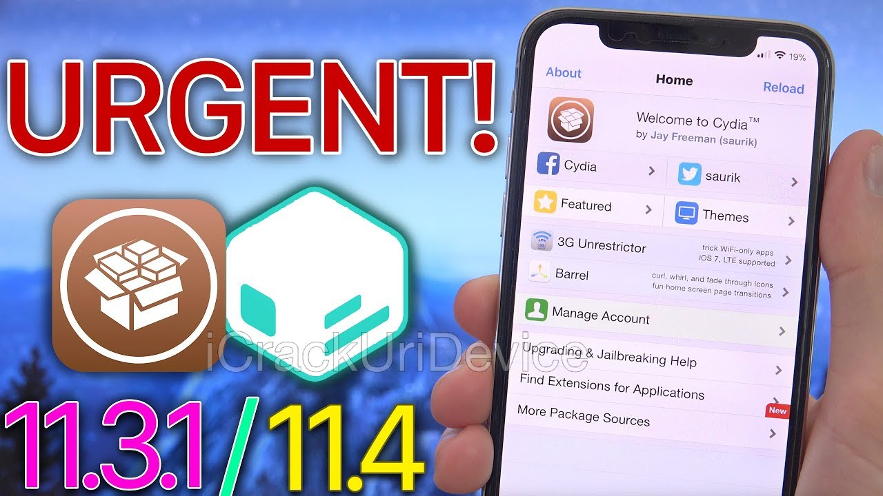 Get Cydia Back After Update! Sileo & Cydia iOS 11 3 1 - 11 4