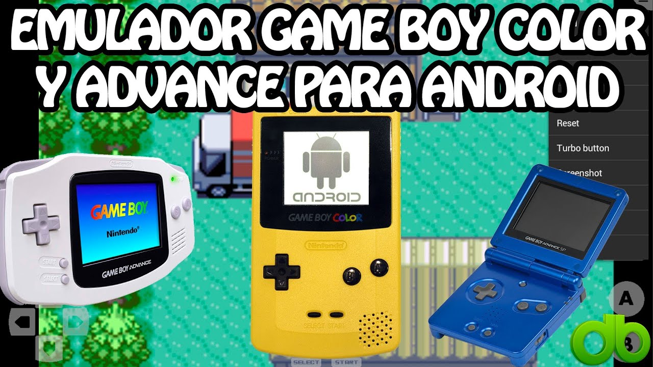 Gameboy color emulators - Emulador Game Boy Advance Y Color Para Android Juegos Roms Con John Gba Y Gbc Gameboy Youtube