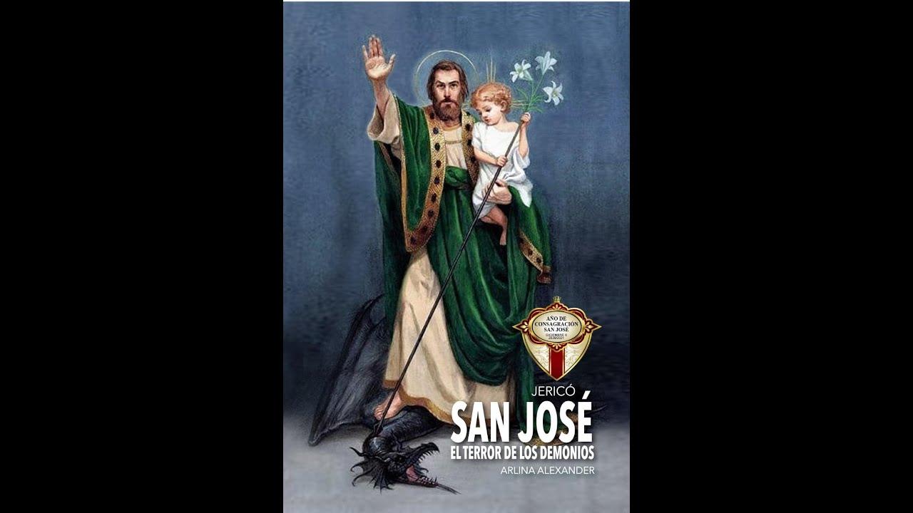 Novena PODEROSA y muy MILAGROSA a San José terror de los demonios - día 4