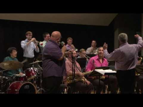 Raymond Shiner Jazz Award Big Band plays On The Sunny Side Of The Street