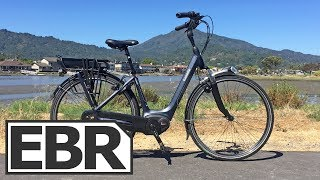Gazelle Arroyo C8 HMB Video Review - $3.5k Premium Comfort City Electric Bike