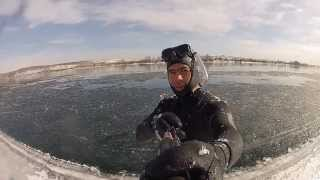 Подводная охота в Сибири 2012-2013; Spearfishing in Siberia