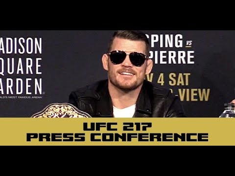 "Michael Bisping: GSP Looks Like He Was ""Impregnated by Aliens"""