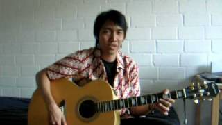 Gambar cover U2 Stay - acoustic cover dino