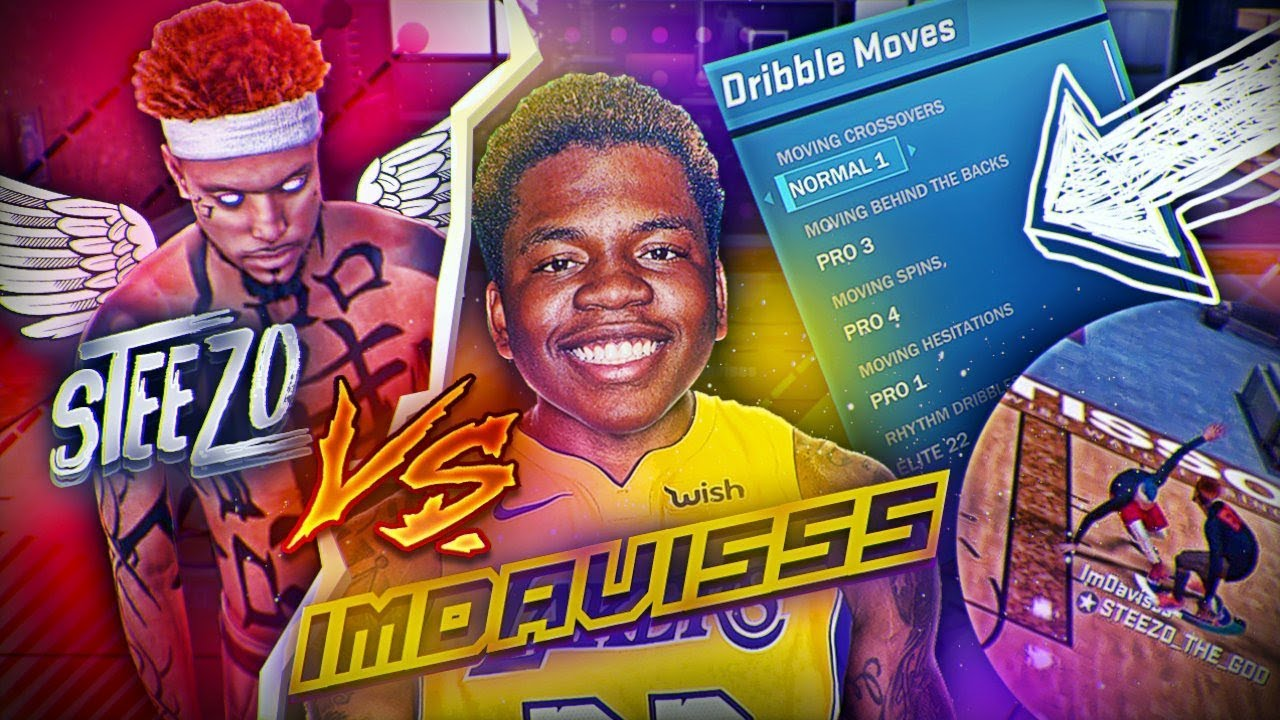 STEEZO PULLS UP ON IMDAVISSS'S 6'10 PLAYMAKER WITH NEW DRIBBLE MOVES! SOMEBODY GOT EXPOSED
