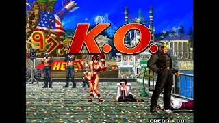 (TAS) The King Of Fighters 97' - Yamazaki - Blue Mary - Billy Arcade