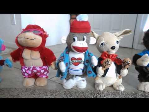 2017 Gemmy and Cuddle Barn Plush Animatronics