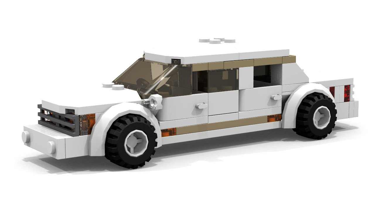 Moc Lego City Limousine Tutorial Youtube