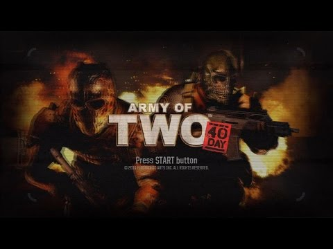 PS3 Longplay 024 Army of Two: The 40th Day 2 player Part 1 of 2