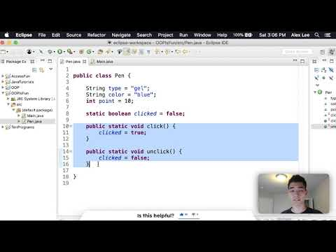 Object-Oriented Programming Tutorial in Java thumbnail