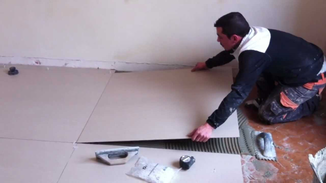 pose carrelage extra fin 3.5 mm reflex-carrelage.fr - youtube