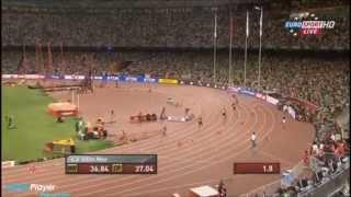 Men's 4 × 100 metres relay - Usain Bolt - IAAF World Championships BEIJING 2015