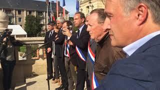 Manifestation union des maires de l'Eure 2017 10 04