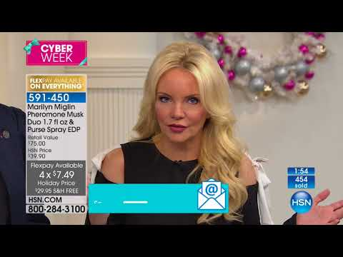5d86cfb96de HSN | Marilyn Miglin Beauty Gifts 12.01.2017 - 02 PM - YouTube