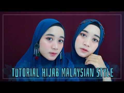 Tutorial Hijab Malaysian Style
